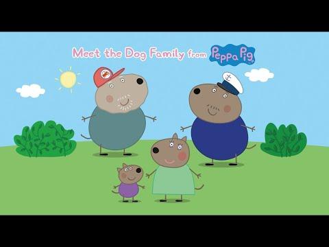 Peppa Pig - Meet the Dog Family!