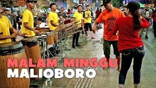 Malam Minggu Digoyang!! Bareng ANGKLUNG MALIOBORO Yogyakarta CAREHALL (Musisi Jalanan Jogja)