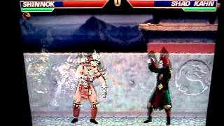 Mortal Kombat Project 4.1 ShinSmoke's Edition: Shinnok vs  Shao Kahn