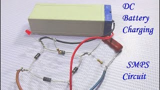 How To Make DC Battery Charging SMPS Circuit With Voice In Bengali Language