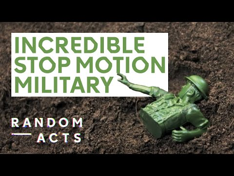 Stop motion military madness Toy Soldiers by Georgia Oakley Short Film Random Acts