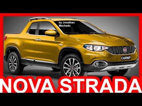 PHOTOSHOP Nova Fiat Strada 2018 Projeto X6P Rival da Renault Duster Oroch Fiat