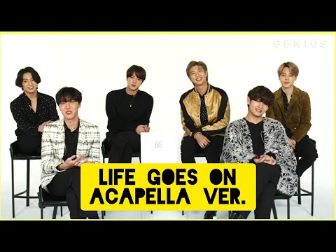 BTS LIFE GOES ON Vocal Only Acapella ver.