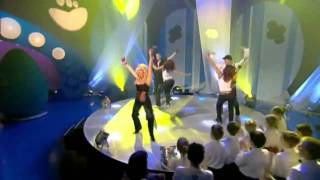 Britney Spears Toxic (Blue Peter HD 720p)