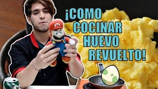¡COMO COCINAR HUEVO REVUELTO! | Sketch | Leo Harley