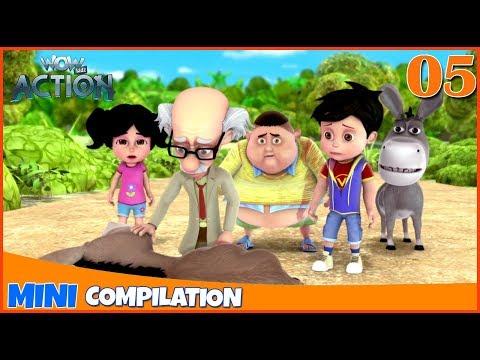 Xxx Mp4 Vir The Robot Boy Mini Series Compilation 05 3D Cartoon For Kids WowKidz Action 3gp Sex