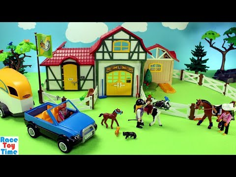 Xxx Mp4 Playmobil Horse Stable Farm Build And Play Toys For Kids 3gp Sex