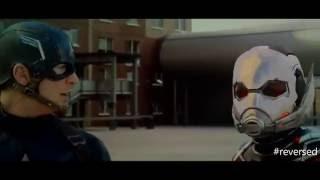 REVERSED vs vs vs Captain America  Civil War Airport Fight Scene