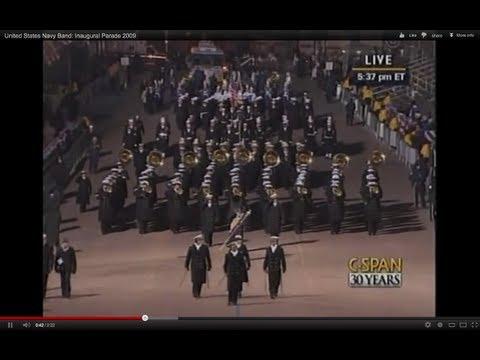 watch United States Navy Band: Inaugural Parade 2009
