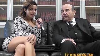 Seniha Kanatlı sitting with crossed legs