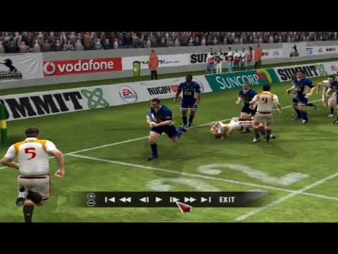 EA Rugby 08 Big Hits