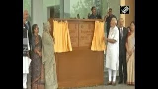 Indian Prime Minister, Bangladeshi counterpart inaugurate