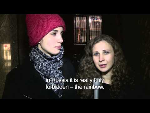 Xxx Mp4 PUSSY RIOT Endorses RADUGA The Rainbow App 3gp Sex
