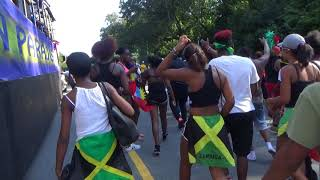 JAMAICAN GIRLS WHINE, DANCE AT WEST INDIAN CARNIVAL PARADE 2017 BROOKLYN NEW YORK