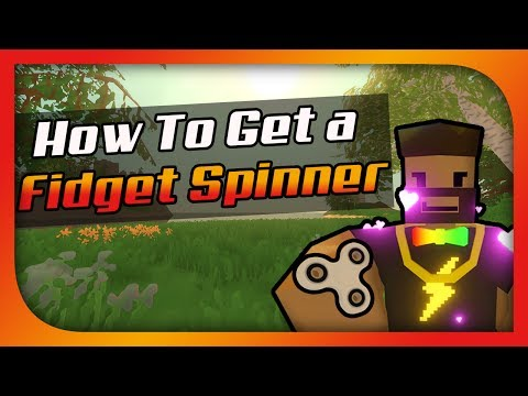 How To Get A Fidget Spinner In Unturned [Most Useless Mod Ever]