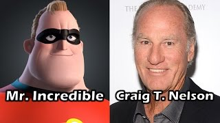 Characters and Voice Actors - The Incredibles