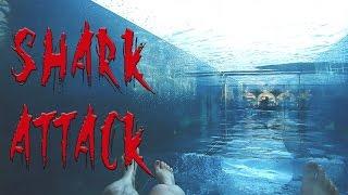 Shark Attack waterslide. My AquaVenture Waterpark experience at Atlantis The Palm, Dubai.