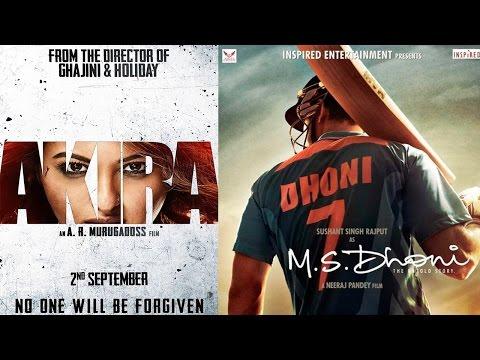 Sushant Singh Rajput's M S Dhoni Postponed To Avoid Clash With Sonakshi Sinha's Akira