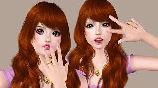 The Sims 3: Create a cute girl [Kawaii Girls] #2 - Aki