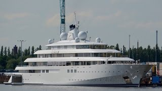 4K Mega Yacht GOLDEN ODYSSEY - Name visible - Project TATIANA