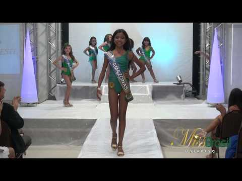 Miss Brasileirinha Universal 2014 Categoria Princess e Nina Concurso Infantil de beleza nacional
