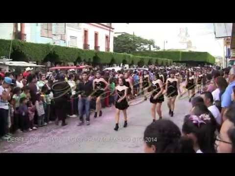 DESFILE REINAS y BASTONENAS ACAMBARO GTO. 2014