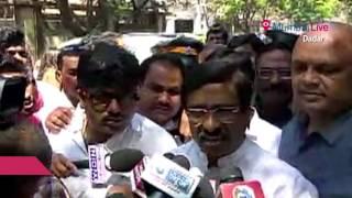 Vinayak Raut Visits Matoshari, see what he said there | Mumbai Live