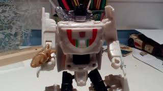 Transformers wheeljack trailer stop motion