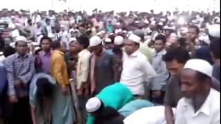 Jamaat Leader kamaruzzaman buried