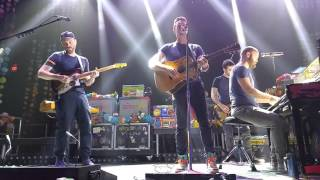 Coldplay  Imagine Sparks And Yellow November 13 2015