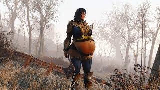 Fallout4  preggo   walk