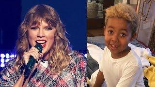 Taylor Swift SURPRISES Wiz Khalifa & Amber Rose