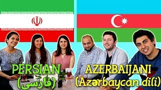 Similarities Between Persian and Azerbaijani Turkish