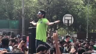 Akash thosar Happy streets performance.#fu