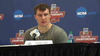 Adam Coon of Michigan advances to NCAA finals at 285