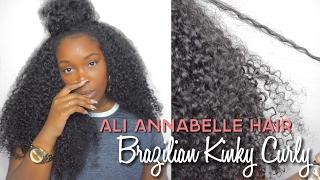 Annabelle Hair   Brazilian Kinky Curly   Aliexpress
