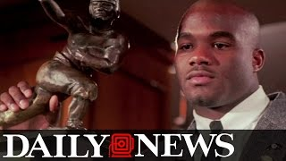 Rashaan Salaam, Heisman Trophy winner, committed suicide with gunshot to head