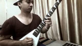 Oni Hasan Cover of Tornado Of Souls Solo (Megadeth)