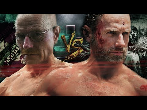 Rick Grimes VS. Walter White   Duelo de Titãs