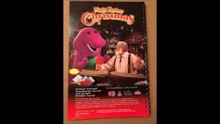 Barney's Night Before Christmas Sing Along Cassette