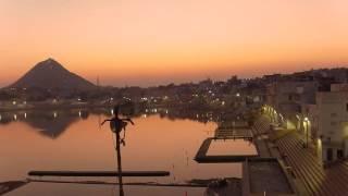 Pushkar Sunset Worship | Rajasthan India