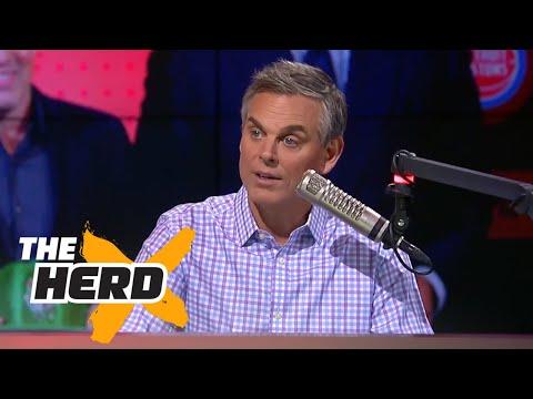 Colin reacts to 2017 NBA Draft Lottery talks Lonzo Ball s NBA future THE HERD