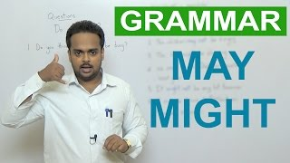 MAY, MIGHT - Basic English Grammar