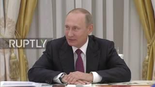 Russia: Putin congratulates the winners of the Silk Way Rally 2016