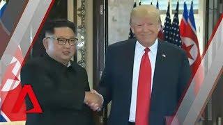 "Trump-Kim summit: Donald Trump, Kim Jong Un sign ""comprehensive document"" in Singapore"
