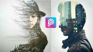 Cara Edit Foto Double Exposure Effect di PicsArt​