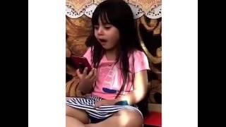 راما الخالدي تكلم ابوها وتبكي