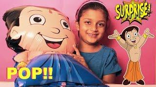 Chota Bheem Balloon Surprise | Chota Bheem Candy, Gem Surprise, Mickey Mouse Surprise Chocos Inside