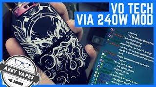 VIA 240W Vape Mod (Giveaway info) // USV Official