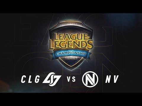Xxx Mp4 CLG Vs NV Day 2 Game 3 NA LCS Summer Split Quarterfinals CLG Vs Team Envy 2017 3gp Sex